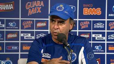Marcelo Oliveira usa a pausa no Mineiro para acertar a pontaria dos jogadores - O Cruzeiro só volta a campo pelo Campeonato Mineiro em março.