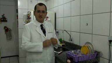 Professor Cláudio Lima dá dicas sobre como manter a higiene da pia - Bons hábitos ajudam a manter a pia livre de bactérias
