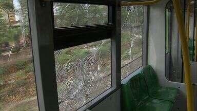 Metrôs de Fortaleza estão danificados com ação de vândalos - Na linha Sul, o Metrofor pediu dispensa de licitação em obras por causa do risco de explosões.