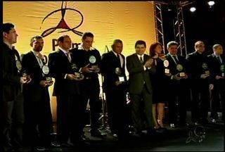 Município de Tinguá foi palco da entrega do Prêmio Contribuintes - O prêmio é uma parceria entre o Governo do Ceará através da Secretaria da Fazenda e Sistema Verdes Mares.