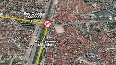 Tem mudança no trânsito da Avenida Agamenon Magalhães, a partir de sábado - Quem segue no sentido Recife-Olinda não vai poder mais entrar à esquerda no pontilhão, no bairro de Santo Amaro.