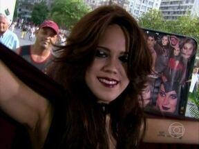 Aprenda a fazer em casa a maquiagem da vampira Mina - Personagem poderosa era interpretada por Cláudia Raia, em O Beijo do Vampiro