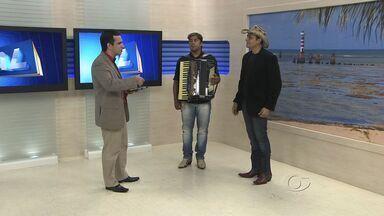Estúdio: Mano Walter - cantor - Em entrevista, cantor fala de música, shows e preparativos para as festas juninas