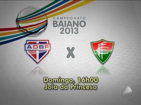 Rivalidade no interior marca a 6ª rodada do Baianão; confira jogos - Juazeiro, lider da competição, enfrenta o Juazeirense no domingo.