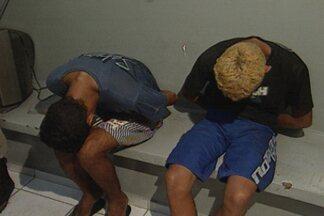 Duas pessoas são presas acusadas de fazer vários assaltos na avenida Epitácio Pessoa - Jovens usavam armas de brinquedo para assaltar vítimas.