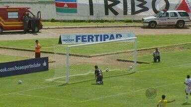 Boa Esporte é derrotado pelo Tupi por 2 a 1 no Campeonato Mineiro - Boa Esporte é derrotado pelo Tupi por 2 a 1 no Campeonato Mineiro