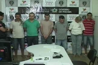 Operação policial prende seis pessoas suspeitas de praticar homicídios - Essas seis pessoas são suspeitas de formar milícias e matar pessoas por domínios de terra.