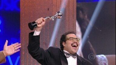 Tiago Abravanel é eleito o Ator Revelação do ano de 2012 - Ator de Salve Jorge concorreu com José Loreto e Daniel Rocha, do elenco de Avenida Brasil