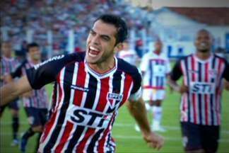 São Paulo vence Penapolense fora de casa e segue líder do Paulistão - Ney Franco aproveitou o jogo para 'rodar' o elenco