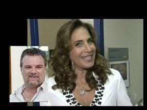 Colega de elenco, Paloma Bernardi entrega bordão de Garib: 'Mil perdões' - Totia Meirelles e Vera Fischer também falam sobre o convívio com o ator