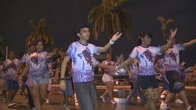 Torcida em Manaus faz últimos ensaios para gravação de DVD do Caprichoso - Festa de lançamento será realizada neste sábado (9)