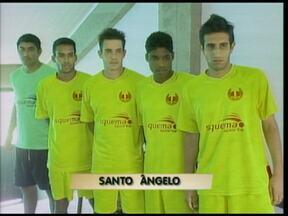 Equipe de Santo Ângelo faz contratações para disputar a divisão de acesso ao gauchão - Cinco jogadores foram apresentados