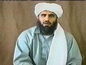 Genro de Osama Bin Laden é indiciado em Nova York - Sulai-Mân Abu Gháit se declarou inocente da acusação de conspirar para assassinar cidadãos americanos. Ele foi preso na Jjordânia, levado para os EUA na semana passada e pode ser condenado à prisão perpétua.