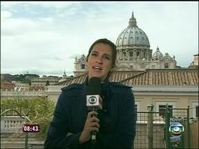 Direto de Roma, repórter mostra como está o clima após escolha do novo Papa - Francisco assumirá a vaga oficial no Vaticano na próxima terça-feira