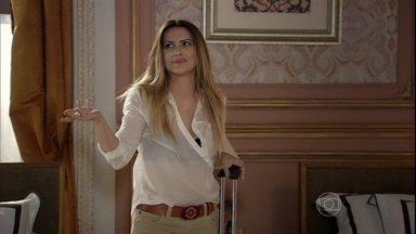 Bianca planeja encontrar Zyah no mesmo lugar onde se conheceram - Maitê aconselha a amiga a tomar cuidado com os próprios sentimentos