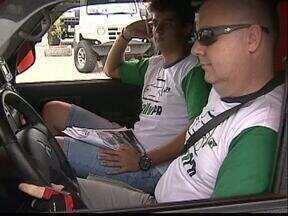 Começou hoje em Ponta Grossa o Rally de Regularidade - 48 pilotos e navegadores participam da primeira das cinco etapas do paranaense.