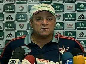 Fluminense enfrenta o Audax na estreia da Taça Rio - Técnico, Abel Braga, fala sobre expectativa do jogo.
