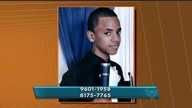 Wesley Barbosa dos Santos, de 16 anos, está desaparecido desde 12 de março - Ele saiu de casa com uma mochila e não voltou
