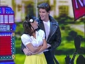 "Giovanna Lancellotti e Jonatas Faro revivem o clássico ""Grease"" - Prova fez parte do Lata Velha dos Famosos"