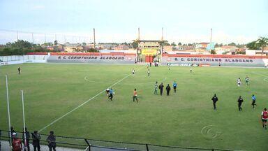 Corinthians-AL derrota o Murici por 2 a 0 - Tricolor reage no hexagonal do Alagoano.