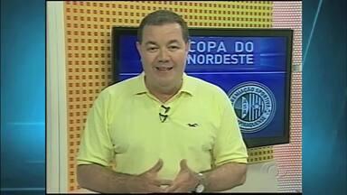 Equipe da TV Gazeta está na Paraíba para transmitir a final do Nordestão - Campinense e Asa se enfrentam pelo Campeonato do Nordeste no estádio Amigão, em Campina Gande.
