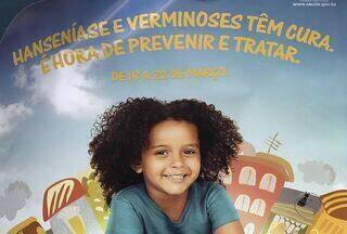 Começa hoje (18) em Sergipe a Campanha Nacional contra a Hanseníase - O objetivo da Secretaria Estadual da Saúde (SES) é alcançar os 75 municípios sergipanos, que registram um total de 500 casos por ano. Representante do Ministério da Saúde (MS) fala das ações que serão desenvolvidas essa semana.