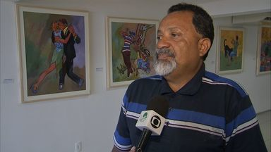 Exposição Reencontro das Cores homenageia Antônio Bandeira - Bandeira Lima, sobrinho de Antônio, é considerado herdeiro de suas habilidades.