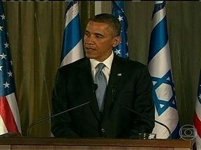 Barack Obama visita Israel na tentativa de estreitar relações - Em sua primeira viagem a Israel como presidente americano, Barack Obama não levou um plano de paz, mas se esforçou para melhorar as frias relações com o primeiro-ministro Benjamin Netanyahu.