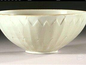 Comprado por R$ 6, vaso chinês é leiloado por R$ 4 milhões - Uma antiga tigelinha chinesa comprada pelo equivalente a R$ 6 era, na verdade, um tesouro de mil anos de idade -- leiloado hoje em Nova Iorque por R$ 4 milhões.