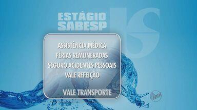 Franca, SP, oferece estágio remunerado para estudantes universitários - Vagas estão disponíveis na Sabesp. Confira.