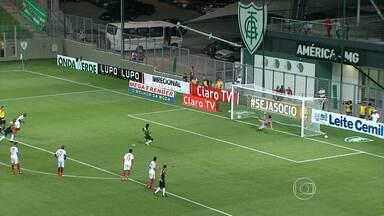 América goleou o Guarani na sétima rodada do Campeonato Mineiro - Nikão estreou no time da capital e foi destaque no jogo.