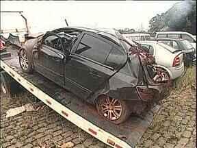 Motorista que morreu transportando contrabando vai ser enterrado hoje - Ele tentou fugir da fiscalização
