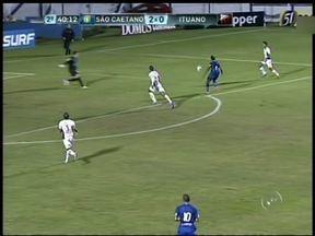 Times da região jogam pela 13ª rodada do Paulistão - No complemento da 13ª rodada do Paulistão, o Paulista venceu o Guarani em Campinas, de virada, por dois a um. Já o Ituano perdeu para o São Caetano no ABC.
