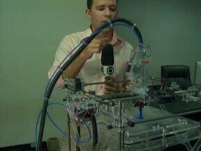 Primeira impressora em 3D chega em Teresina - Primeira impressora em 3D chega em Teresina