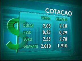 Confira a cotação das moedas nas casas de câmbio de Foz - O dólar vale R$ 2,03 na venda e R$ 2,09 na compra.