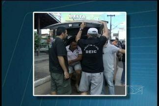 Presa quadrilha interestadual de assaltantes de banco - Segundo a polícia, grupo atuava no Maranhão, Pará e Tocantins e teria sido responsável por ações em Santa Helena e Vitorino Freire.
