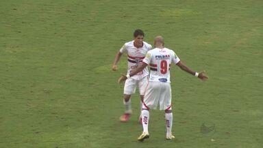 Botafogo vence partida contra Linense no estádio Santa Cruz - Alexandre Reis comenta disputa.