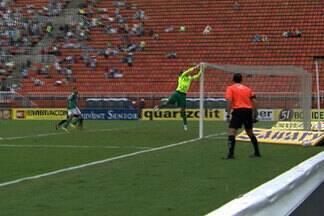 Goleiros brilham em clássico apagado entre Santos e Palmeiras - Fernando Prass e Rafael fecharam os gols e o clássico terminou 0 a 0.