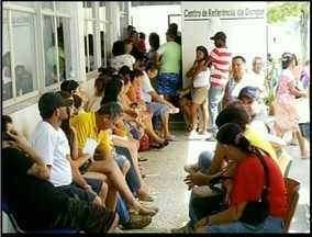 Maior Centro de Hidratação de Campos, RJ, está com superlotação - São quase 600 atendimentos por dia.