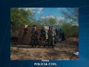 Polícia do Piauí apreende 337 televisores após receber denúncia - Aparelhos estavam em propriedade na cidade de Santo Antonio de Lisboa.Denúncia foi feita por um vaqueiro que mora na região.
