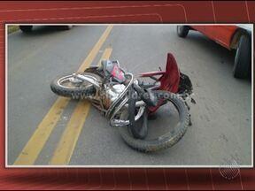 Motociclista morre em acidente na BR-135 - O corpo de Everton Gonçalves de Brito, de 41 anos, será enterrado na tarde desta segunda-feira.
