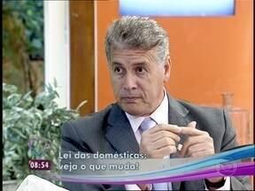 Mario Avelino diz que o empregador não passa a ser pessoa jurídica - Especialista tira dúvidas de telespectadores sobre a PEC das domésticas