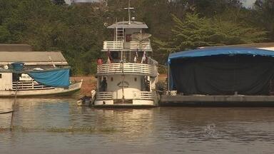 Delegacia Fluvial alerta que o nível do Rio Madeira continua subindo, em Porto Velho - Pelo menos quatro bairros da capital estão entre as áreas mais atingidas.