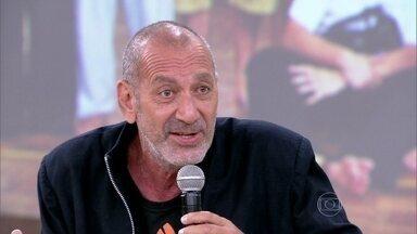 Guti Fraga se apresenta: 'Sou um peão da arte' - Ele conta como montou o grupo 'Nós do Morro'