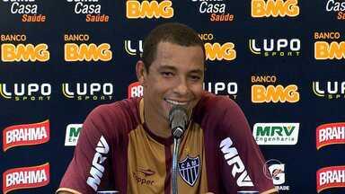 Contra o Tupi, Galo vai ter a troca de um Silva por outro - Leonardo Silva, suspenso, provavelmente dará a vaga a Gilberto Silva.