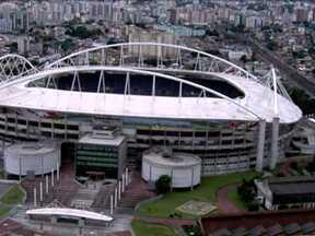 Estádio João Havelange é interditado - O estádio conhecido como Engenhão foi interditado, no Rio de Janeiro. A prefeitura recebeu hoje o laudo que mostra que a cobertura pode desabar.