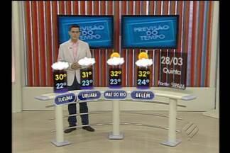 Confira a previsão do tempo para o feriado da Semana Santa - Bom Dia Pará informa a previsão do tempo para o feriadão prolongado da Semana Santa.