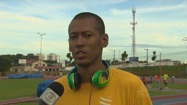 Sandro Viana se prepara para competição no RJ - Na prova, ele pode competir contra o homem mais rápido do mundo.