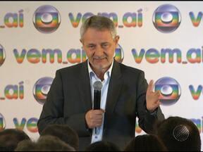 Rede Globo mostra novidades para 2013 em festa em São Paulo - O diretor geral da emissora disse que não para por aí. Surpreender e inovar são as metas da Globo.