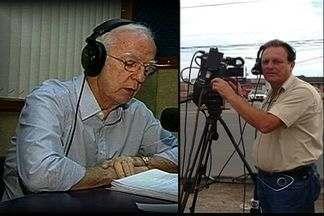 Jairo Maia e José Henrique Pinto fizeram história no rádio no ES e morrem no mesmo dia - Os dois trabalharam juntos na Rede Gazeta por muitos anos.
